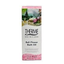 Therme badolie bali flower