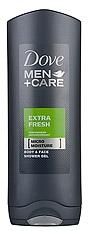 Dove men douchegel extra fresh 250ml