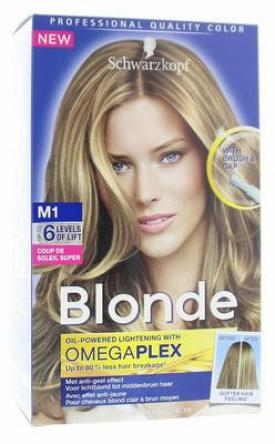 Schwarzkopf blonde super highlights coupe de soleil