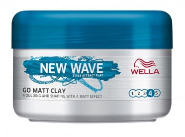 Wella new wave go matt klei